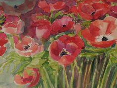 Anemones, http://watercolourstories.blogspot.com/