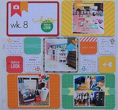 #papercrafting #scrapbook #layout - Project Life: Week 14 - Bloglovin