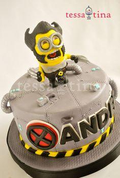 wolverine Minion Cake Ideas   Found on cakecentral.com
