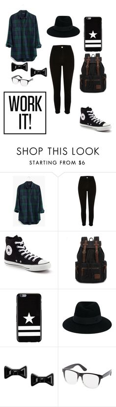 """""""Untitled #16"""" by explorer-145837088710 on Polyvore featuring Madewell, Converse, Givenchy, Maison Michel, Marc by Marc Jacobs and Charlotte Russe"""