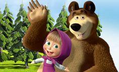 Kumpulan Gambar Masha and The Bear | Gambar Lucu Terbaru Cartoon