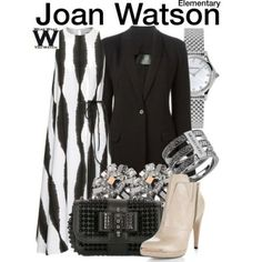 Inspired by Lucy Liu as Joan Watson on Elementary - Shopping info!