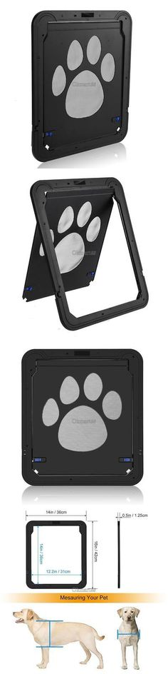 Doors and Flaps 117421: Oxgord Dog Cat Flap Doors With Lock For Pets Entry And Exit-2016 New Design Q -> BUY IT NOW ONLY: $30.65 on eBay!