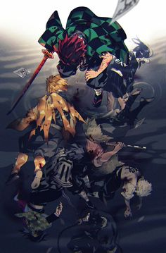 Anime: Demon Slayer Kimetsu No Yaiba Otaku Anime, Manga Anime, Fanarts Anime, Anime Demon, Anime Characters, Cool Anime Wallpapers, Animes Wallpapers, Demon Slayer, Slayer Anime