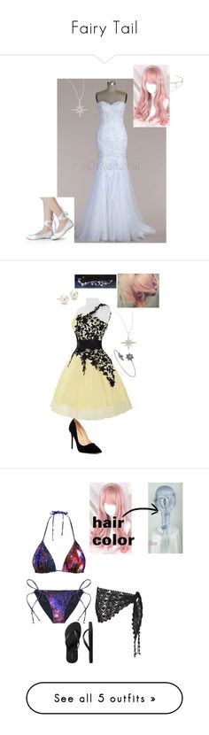 """""""Fairy Tail"""" by bec1995 ❤ liked on Polyvore featuring Sydney Evan, Henri Bendel, Liliana, LYRALOVESTAR, Blue Nile, Old Navy, Beauty & The Beach, River Island, Converse and M&Co"""
