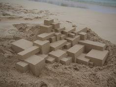 Sand castles extraordinaire!!!!!!