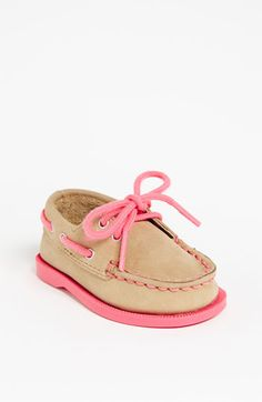 Sperry Top-Sider® Kids 'Authentic Original' Crib Shoe!