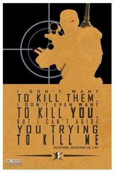 Deathstroke quote