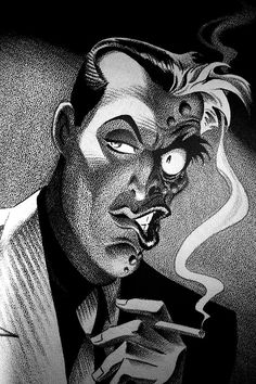 Two-face from the amazing Batman Animated Series.