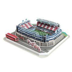 Maqueta del Estadio del Atlético Madrid 'Vicente Calderon' para armar