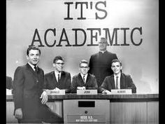 It's Academic 1950s TV Quiz Show - YouTube