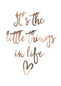 Ik geniet vooral van de kleine dingen in het leven