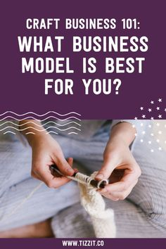 Once you have decided to turn your hobby into a craft business, the next thing you have to do is decide what type of business you want to be running. There are different handmade business models you can choose from, depending on your personal preferences, the crafts you plan on selling, and the customers you want to reach. Let's take a look at your options.