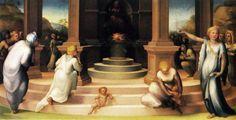 Beccafumi Domenico (1486 - 1551) - 'Il culto di Vesta' - 1519 - Museo di Casa Martelli - Firenze