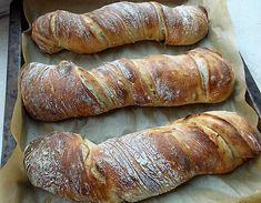 Bread Recipes, Vegan Recipes, Cooking Recipes, Ciabatta, Homemade English Muffins, Good Food, Yummy Food, Hungarian Recipes, Bread And Pastries