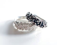 Seed Ring in Sterling Silver by melissapedersen on Etsy