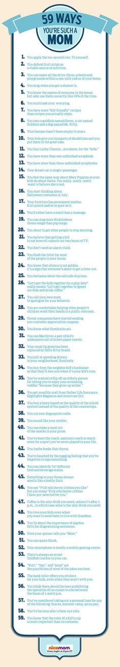 59 Ways You're SUCH A Mom | More LOLs & Funny Stuff for Moms | NickMom