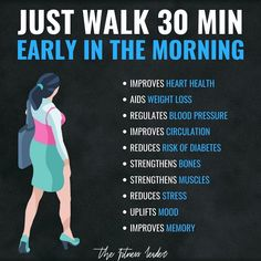 Walking For Health, Walking Exercise, Walking Workouts, Tips Fitness, Fitness Diet, Health Fitness, Fitness Motivation, Biceps, Massage