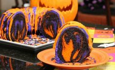 Halloween Rainbow Bundt Cake  http://www.cookingwithsugar.com/amazing-halloween-rainbow-party-bundt-cake-recipe/