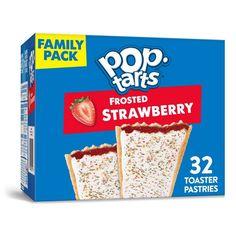 Balanced Breakfast, Breakfast For Kids, Yummy Snacks, Yummy Treats, Pop Tart Flavors, Gourmet Recipes, Snack Recipes, Strawberry Pop Tart, Best Breakfast Recipes