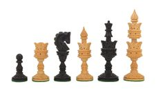 "The Lotus Series Handcarved Wooden Chess Pieces in Ebony & Box Wood - 4.3"" King. SKU: M0004 by chessbazaarIndia on Etsy https://www.etsy.com/listing/174189914/the-lotus-series-handcarved-wooden-chess"