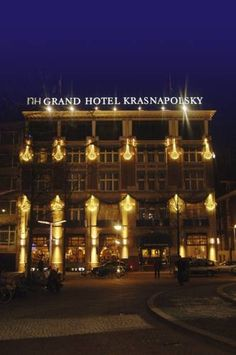 NH Grand Hotel Krasnapolsky, situated in a famous building which dates back to 1865, located in the centre of Amsterdam is close to the house of Anne Frank, the Red Light District (de Wallen), the Van Gough Museum and the Heineken Beer Brewery. The hotel has 468 cozy rooms, which includes 1 suite and 6 junior suites and 35 renovated apartments. There is a fitness centre, a massage service and also a parking attendant.    The hotel also has private and secure parking, available at a...