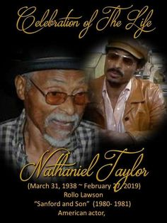 Rest in peace Nathaniel Taylor Black Love Art, My Black Is Beautiful, Black Tv, Beautiful People, Black Actors, Black Celebrities, Celebs, Sanford And Son, Vintage Black Glamour