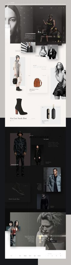 Infographics , UI Design et Web Design - Alexander Wang Redesign Concept - UltraLinx - CoDesign Magazine Fashion Web Design, Web Design Tips, Page Design, Ux Design, Graphic Design, Design Ideas, Design Concepts, Website Layout, Web Layout