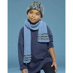 Premier® Blue Line Hat & Scarf Free Download