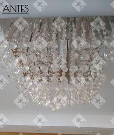 *Serviço de restauração* Qualidade IG Lustres #IGLustres #Lustres #luz #lustre #...,,IGLustres ,Lustres ,luz ,lustre ,IG... Chandelier, Ceiling Lights, Design, Decor, Transitional Chandeliers, Candelabra, Decoration, Chandeliers
