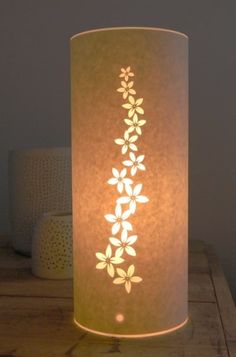 Small Goldenrod Table Lamp