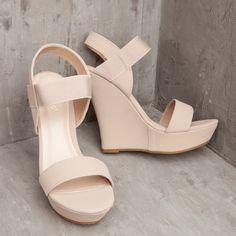 Nude Wedge | ShopDressUp.com