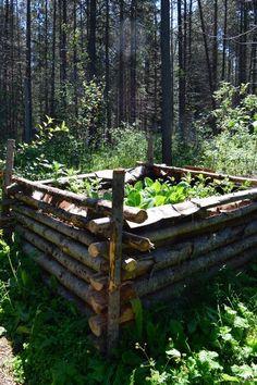 hugelkultur bed 9 ways to make more topsoil organically