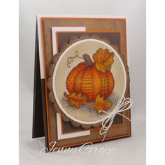 Serendipity Stamps Quilted Pumpkin rubber stamp Free Shipping at www.serendipitystamps.com!