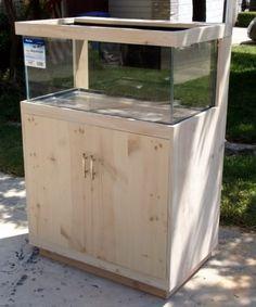 Diy Aquarium Stand, Aquarium Sump, Wall Aquarium, Aquarium Design, Saltwater Aquarium, Aquarium Fish Tank, Bow Front Aquarium, Aquarium Cabinet, Fish Tank Stand