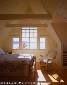 Nice loft room with a nice view.
