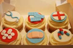 Get Well Soon Cupcakes by The Clever Little Cupcake Company (Amanda), via Flickr
