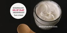 Homemade Oil of Olay Regenerist Face Cream   Easy Life HacksEasy Life Hacks