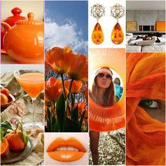 Mandarin - Suitable for: pure spring, true spring, true autumn, dark autumn. Perhaps for a true summer.