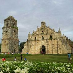 Beautiful Paoay church #philippines