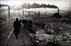 Don McCullin, West Hartlepool in 1968.