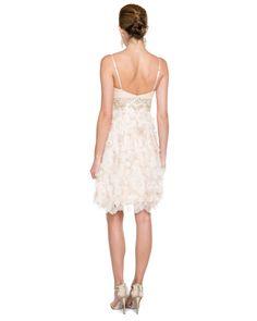 Sue Wong Champagne Embellished Dress 149.90