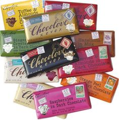 Chocolove Chocolate. I love the peppermint kind!