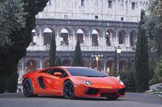 Lamborghini Aventador LP 700-4, Rome