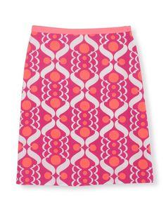 Boden A-line Skirt Floral White Women/'s 100/% Cotton Size UK 16R US 12 R
