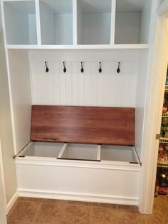 Home Remodeling Closet 40 Wonderful Small Mudroom Design Ideas - Page 6 of 40 Home Design, Interior Design, Interior Doors, Room Interior, Design Design, Home Renovation, Home Remodeling, Kitchen Remodeling, Mudroom Laundry Room