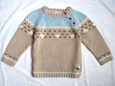 BOY'S FLORIANE BABAR COLLECTION EURO BOUTIQUE PLAY SCHOOL COTTON SWEATER TOP 4T
