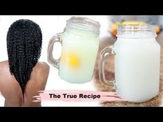 I show you step by step how to make rice water yao women use on their hair. Rice water recipe for natural hair. How i use rice water on my fin. Fine Natural Hair, Natural Hair Styles, Long Hair Styles, Low Porosity Hair Products, Hair Porosity, Grow Long Hair, Grow Hair, Rice Water Recipe, Hair Growing Tips
