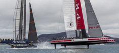 Luna Rossa vince la seconda regata delle semifinali contro Artemis Racing | BLU : BLU
