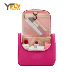 Y-FLY Travel Bag Fashion Waterproof Nylon Cosmetic Bag Multifunction Makeup Storage Bag Ladies Toiletry Zipper Bag Bolsas XP004